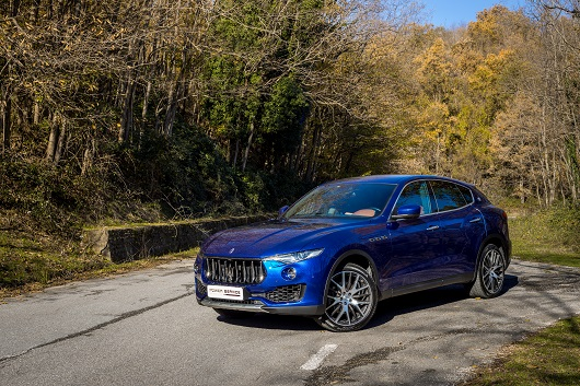 maserati levante power service luxury car hire